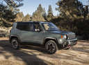 Фото авто Jeep Renegade 1 поколение, ракурс: 315 цвет: серый
