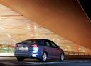 Фото авто Ford Mondeo 4 поколение, ракурс: 225 цвет: голубой