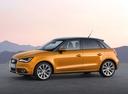 Фото авто Audi A1 8X, ракурс: 90 цвет: оранжевый
