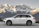 Фото авто Audi Q7 4M, ракурс: 90 цвет: белый
