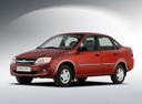 Фото авто ВАЗ (Lada) Granta 1 поколение, ракурс: 45 - рендер цвет: красный