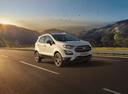 Фото авто Ford EcoSport 2 поколение [рестайлинг], ракурс: 315 цвет: белый