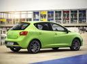 Фото авто SEAT Ibiza 4 поколение [рестайлинг], ракурс: 225 цвет: зеленый