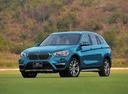Фото авто BMW X1 F48, ракурс: 45 цвет: голубой