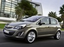 Фото авто Opel Corsa D [рестайлинг], ракурс: 45 цвет: серый