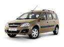 Фото авто ВАЗ (Lada) Largus 1 поколение, ракурс: 45 - рендер цвет: сафари