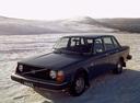 Фото авто Volvo 240 1 поколение, ракурс: 45 цвет: синий