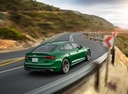 Фото авто Audi RS 5 F5, ракурс: 225 цвет: зеленый