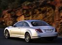 Фото авто Mercedes-Benz CL-Класс C216, ракурс: 135 цвет: серебряный