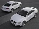 Фото авто Audi A5 8T [рестайлинг], ракурс: 45 цвет: белый