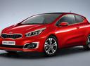 Фото авто Kia Cee'd 2 поколение [рестайлинг], ракурс: 45 - рендер цвет: красный