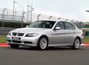 Фото авто BMW 3 серия E90/E91/E92/E93, ракурс: 45 цвет: серебряный