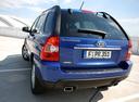 Фото авто Kia Sportage 2 поколение [рестайлинг], ракурс: 180 цвет: синий