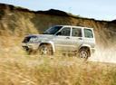 Фото авто УАЗ Patriot 1 поколение, ракурс: 90 цвет: бежевый