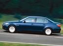 Фото авто BMW 5 серия E60/E61, ракурс: 90 цвет: синий