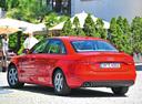 Фото авто Audi A4 B8/8K, ракурс: 135 цвет: красный