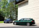 Фото авто Alpina B3 F30/F31, ракурс: 135 цвет: зеленый