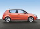 Фото авто Skoda Fabia 5J, ракурс: 270 цвет: бронзовый