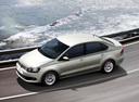 Фото авто Volkswagen Polo 5 поколение, ракурс: сверху цвет: серебряный