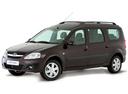Фото авто ВАЗ (Lada) Largus 1 поколение, ракурс: 45 - рендер цвет: коричневый
