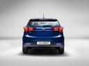 Фото авто Kia Rio 3 поколение [рестайлинг], ракурс: 180 цвет: синий
