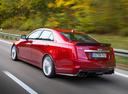 Фото авто Cadillac CTS 3 поколение, ракурс: 135 цвет: красный