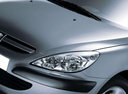 Фото авто Peugeot 307 1 поколение, ракурс: передние фары