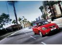 Фото авто Kia Rio 2 поколение [рестайлинг], ракурс: 315 цвет: красный
