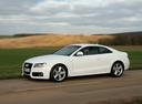 Фото авто Audi A5 8T, ракурс: 90 цвет: белый
