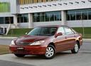 Фото авто Toyota Camry XV30, ракурс: 45 цвет: красный