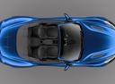 Фото авто Aston Martin Vanquish 2 поколение, ракурс: сверху цвет: синий