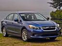 Фото авто Subaru Impreza 4 поколение, ракурс: 315 цвет: голубой