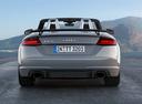 Фото авто Audi TT 8S, ракурс: 180 цвет: серый