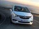 Фото авто Opel Zafira C [рестайлинг], ракурс: 315 цвет: серебряный