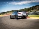 Фото авто Nissan GT-R R35 [3-й рестайлинг], ракурс: 135 цвет: серебряный