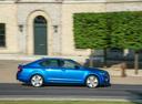 Фото авто Skoda Octavia 3 поколение, ракурс: 270 цвет: синий