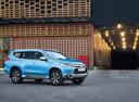 Фото авто Mitsubishi Pajero Sport 3 поколение, ракурс: 315 цвет: голубой