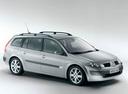 Фото авто Renault Megane 2 поколение, ракурс: 315 цвет: серебряный