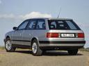 Фото авто Audi 100 4A/C4, ракурс: 135 цвет: серебряный