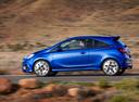 Фото авто Opel Corsa E, ракурс: 90 цвет: синий