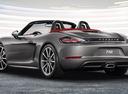 Фото авто Porsche Boxster 982, ракурс: 135 цвет: мокрый асфальт