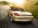Фото авто Porsche Boxster 981, ракурс: 180 цвет: бежевый