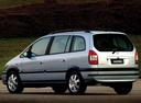 Фото авто Chevrolet Zafira 1 поколение [рестайлинг], ракурс: 135
