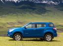 Фото авто Chevrolet TrailBlazer 2 поколение, ракурс: 90 цвет: синий