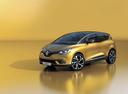 Фото авто Renault Scenic 4 поколение, ракурс: 45 цвет: желтый