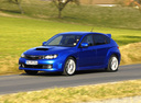 Фото авто Subaru Impreza 3 поколение, ракурс: 45 цвет: синий