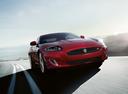 Фото авто Jaguar XK X150 [2-й рестайлинг],  цвет: красный