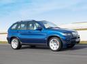 Фото авто BMW X5 E53 [рестайлинг], ракурс: 270 цвет: синий