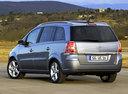 Фото авто Opel Zafira B, ракурс: 135 цвет: серебряный