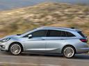 Фото авто Opel Astra K, ракурс: 90 цвет: серебряный